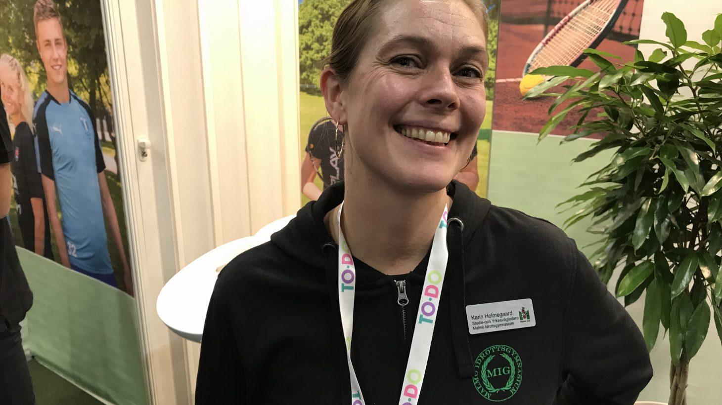 Karin Holmegaard.
