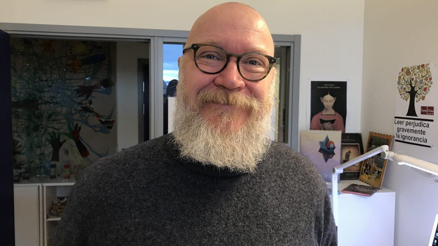 Ulf Malmqvist på kontor.