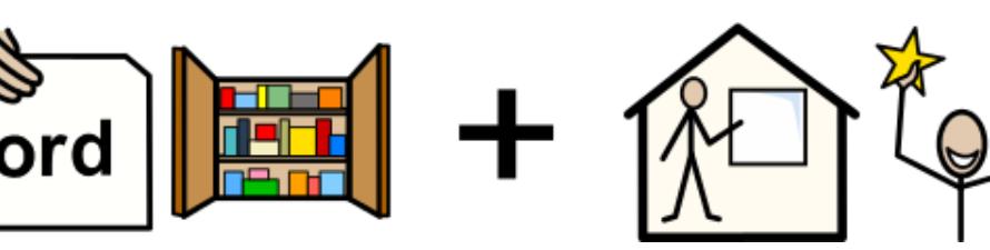 Bild för ordförråd och skolframgång.