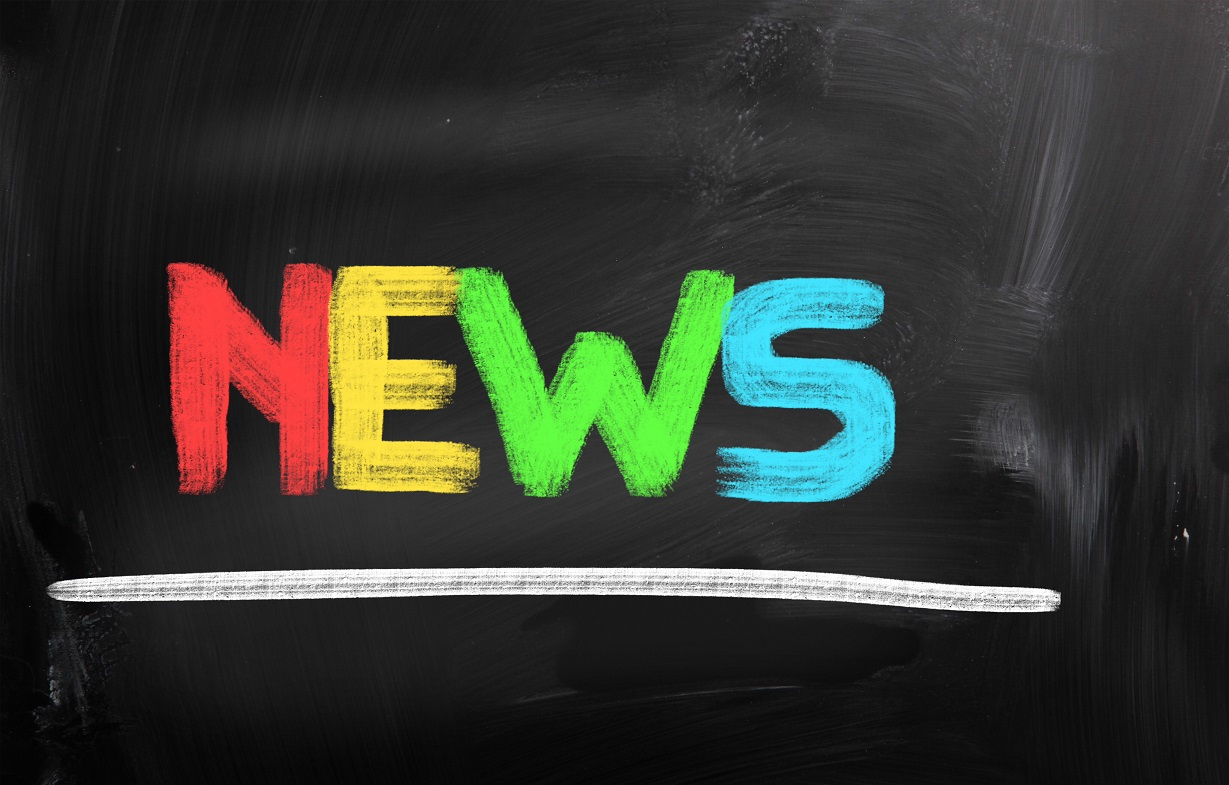 Färgglad text där det står news