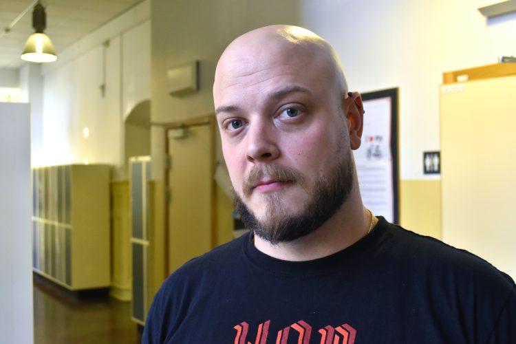 Andreas Barna, lärare i svenska som andraspråk och religion på St Petri skola.