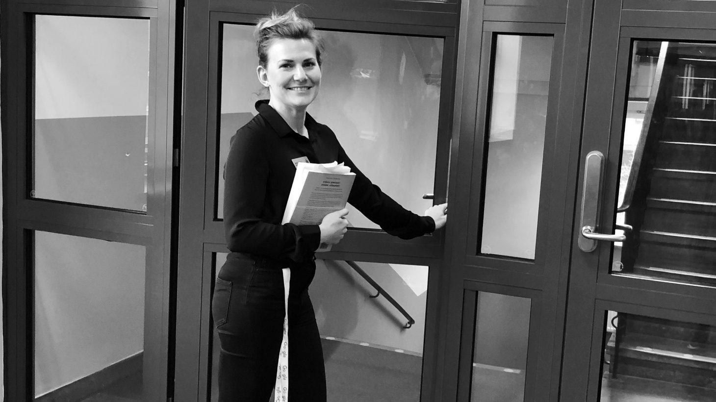 Jenny Hilborn, logoped på Sofielundsskolan.