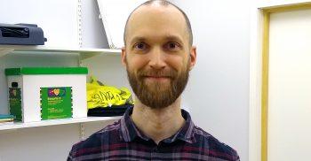 Daniel Lennerstad, logoped på Kommunikationsskolan.