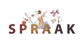 SPRAAK:s logotype.