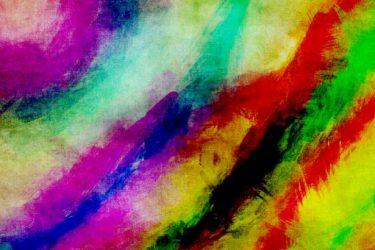 Abstrakt målning.