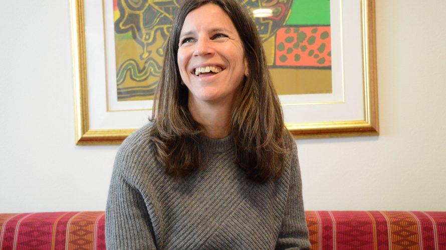 Sara Böök, gymnasielärare Latinskolan.
