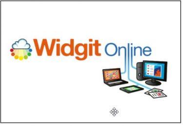 Logotype Widgit online.