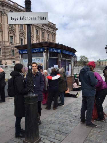 Greta Thunberg i Stockholm.
