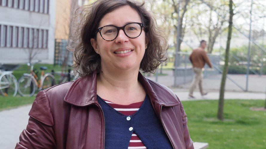 """Daniela Musazzi, psykolog och samordnare för projektet """"En väg in i leken""""."""