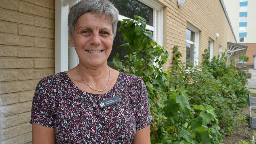 Christel Olsson är förste förskollärare på Gubbabackens förskola.