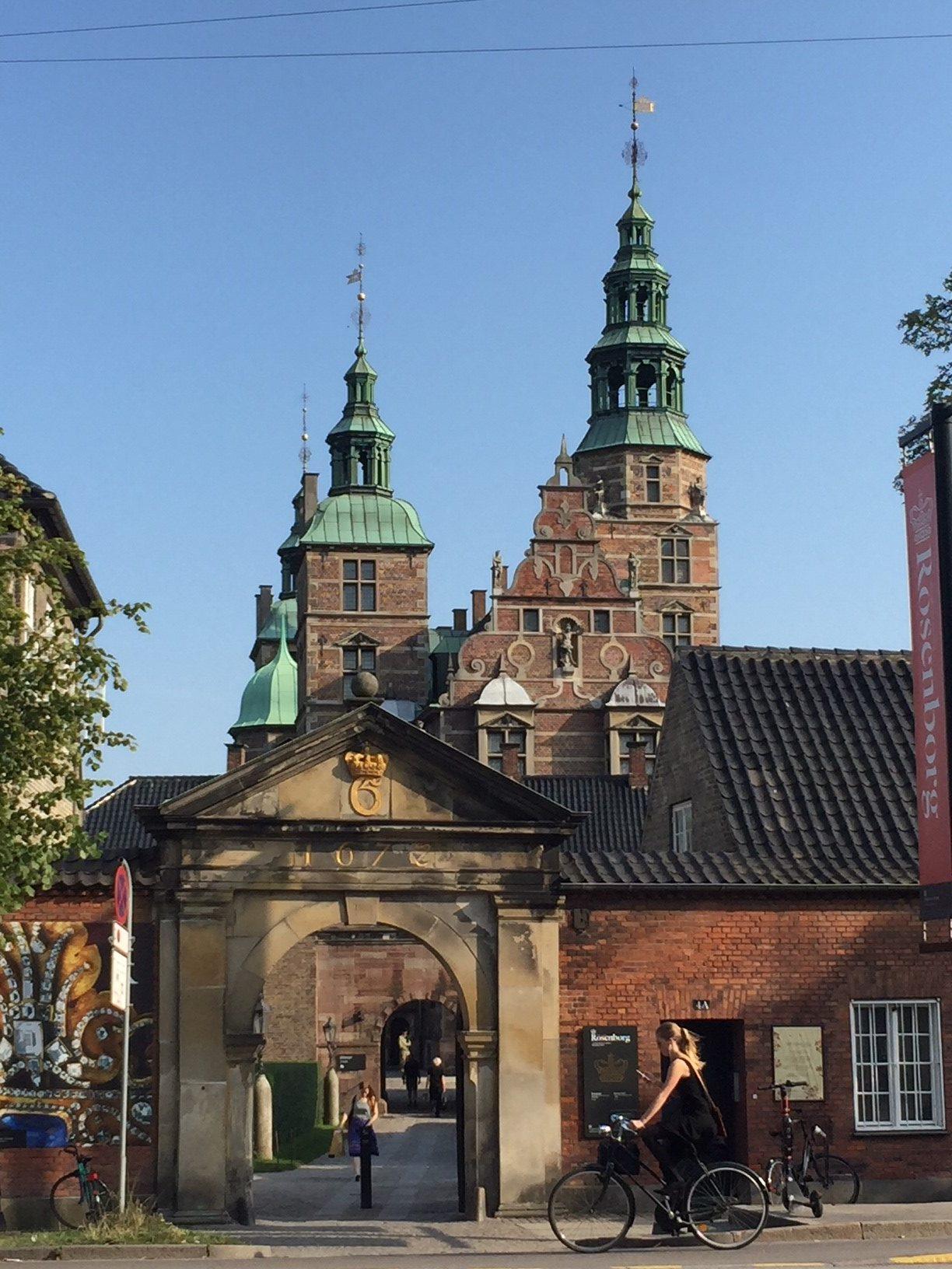 Rosenborgs slott.