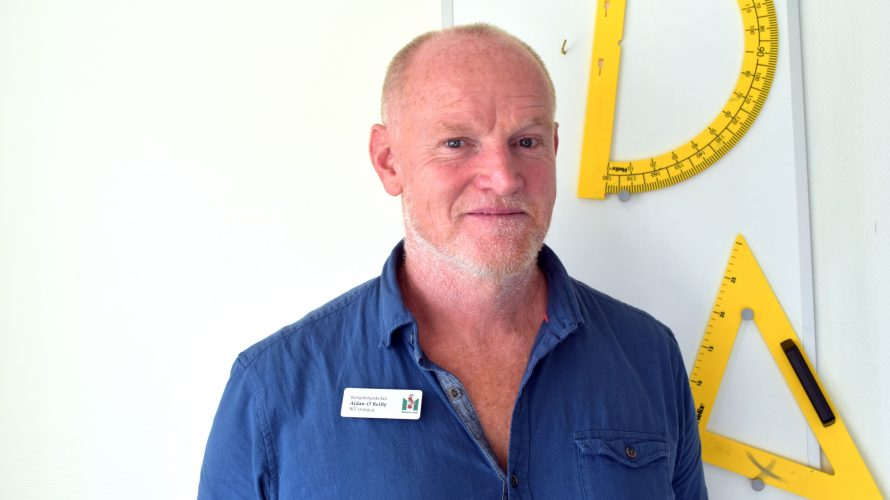 Aidan O'Reilly, IKT-pedagog på Kungshögsskolan.