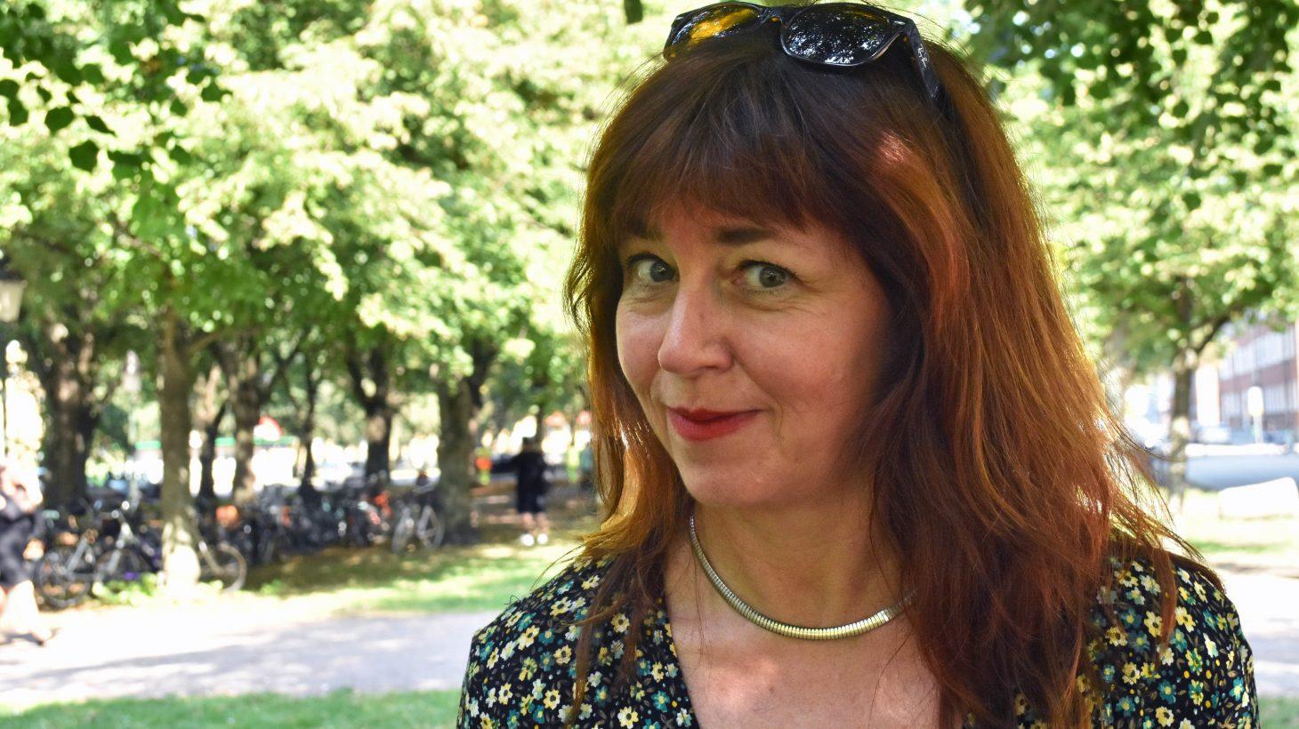 Helena Jeppsson, förstelärare inom grundläggande vuxenutbildning på Komvux.
