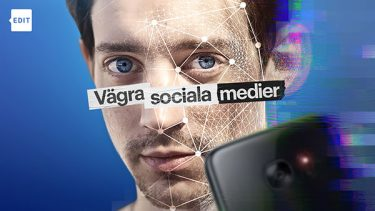 Adam Lundgren i dokumentären Vägra sociala medier