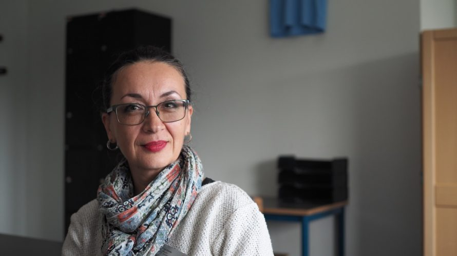 Amra Dzindo, lärare på Munkhätteskolan.