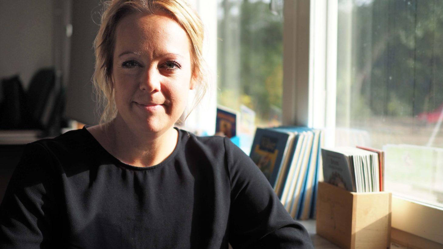 Elin Strömgren lärare på Rosenholmsskolan.