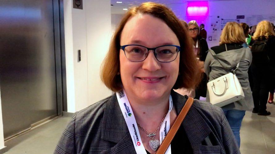 Jenny Parup, engelsklärare på Komvux Malmö.