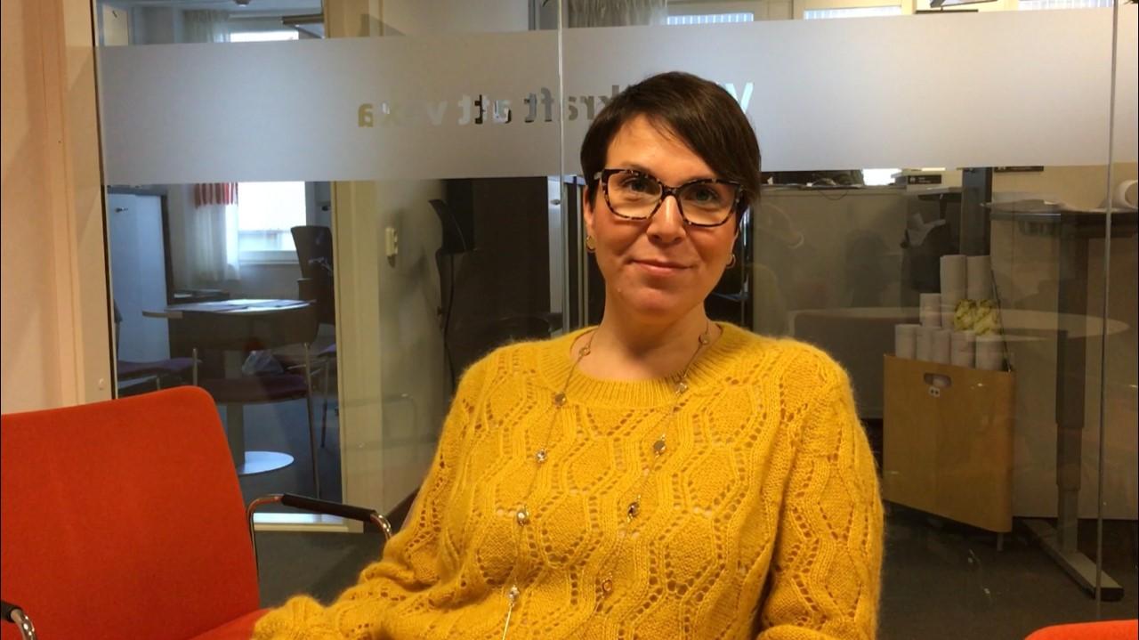 Porträttbild på Johanna Nordström