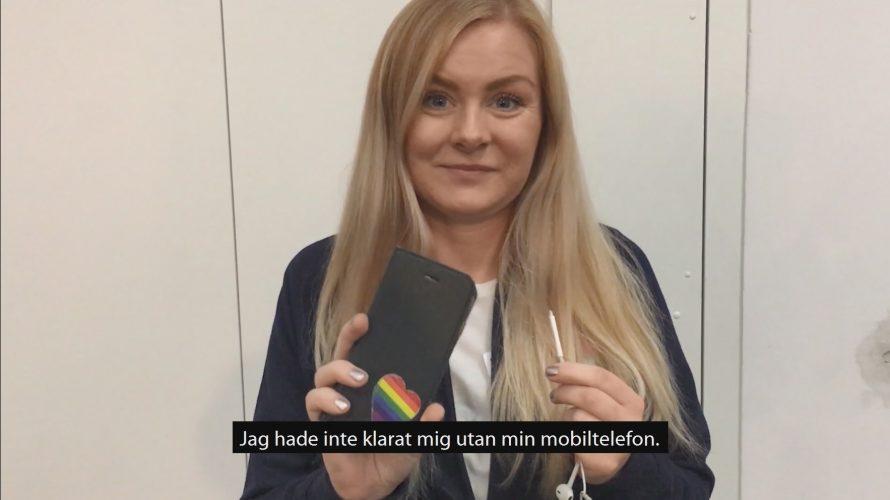 Porträtt på Matilda Vahlgren