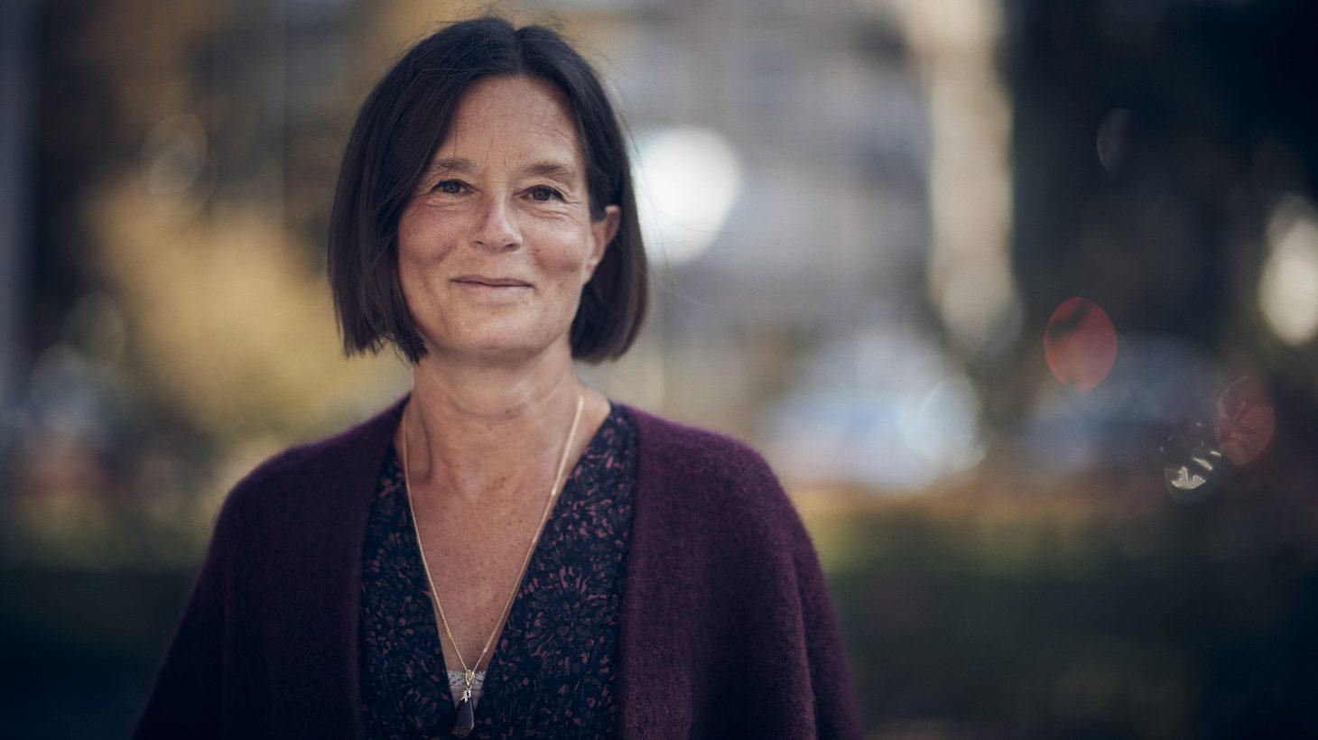 Porträtt på Eva Daun