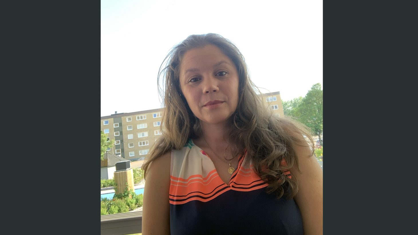 Maria Simbotin, lågstadielärare på Lindängeskolan.