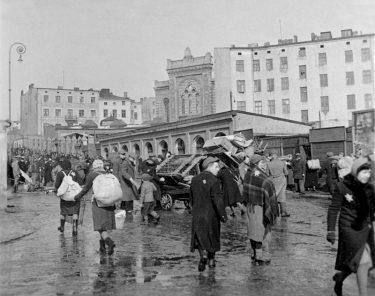 Bild från andra världskriget och Litzmannstadt.