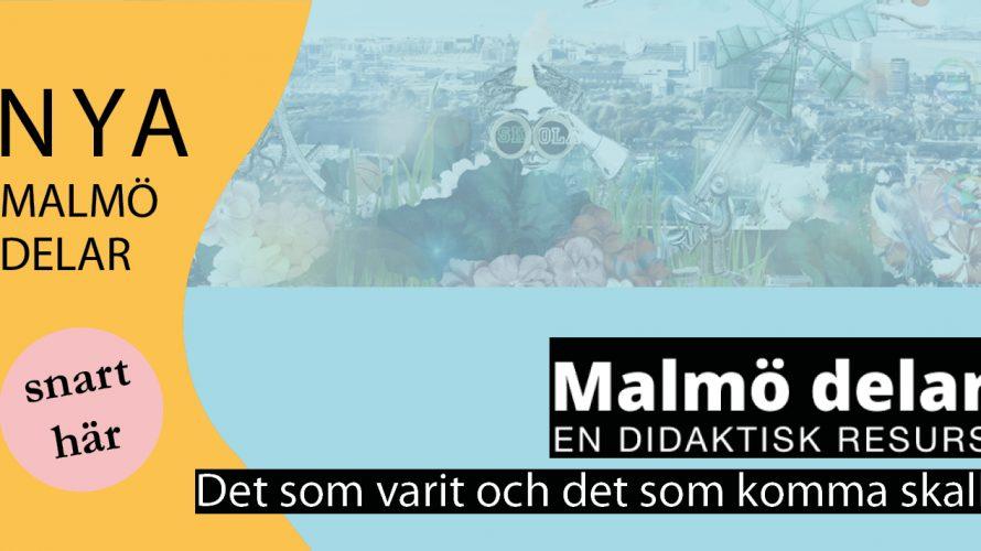 Malmö delas logotype.