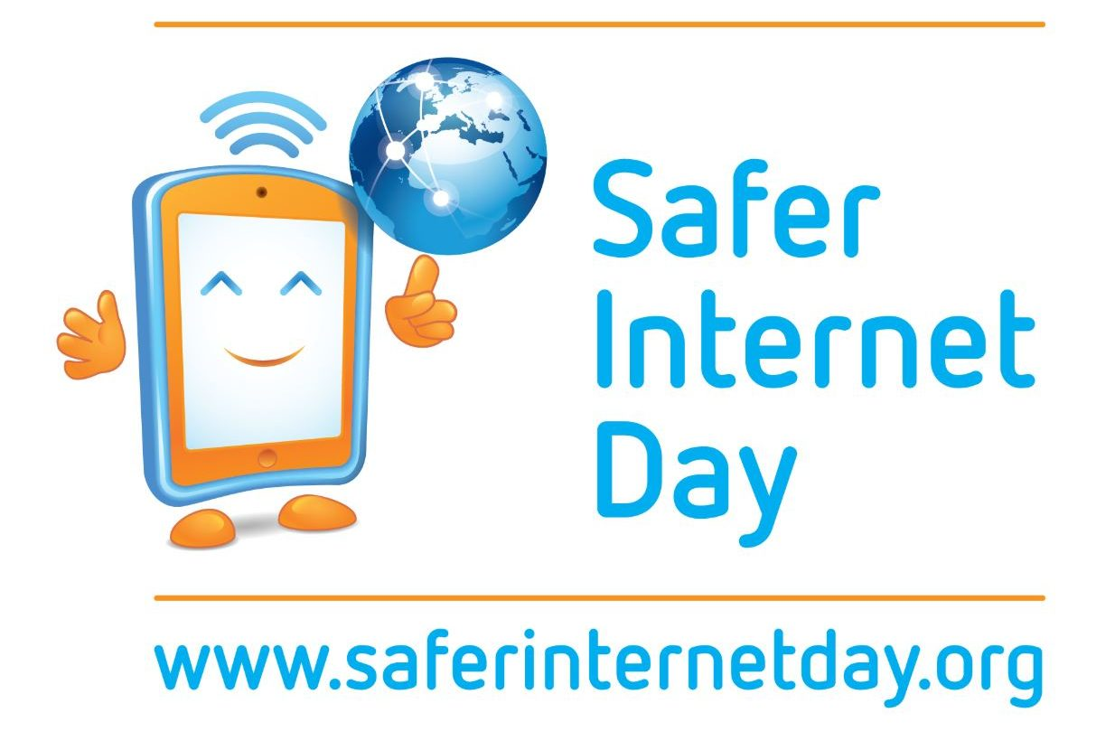Logotype för Safer internet day.