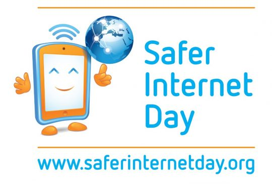 Logotype för Safer internet day.