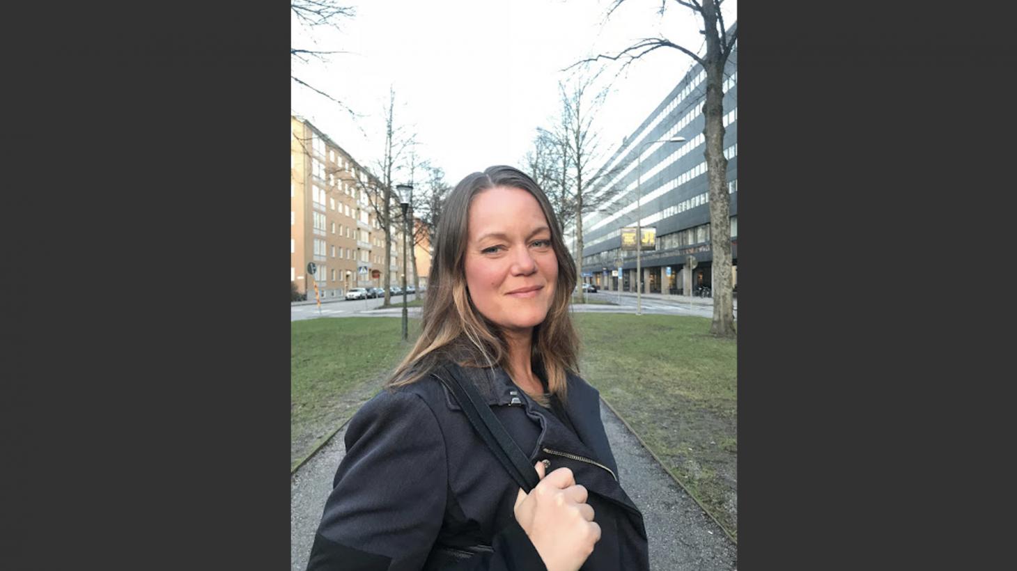 Anna Berntsson, förstelärare på Bäckagårdsskolan.