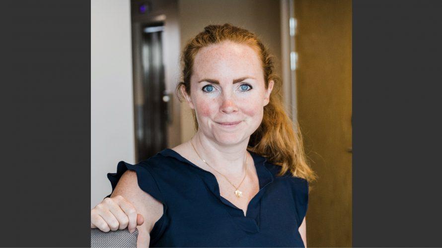 Caroline Sjölin, rektor på Apelgårdsskolan.