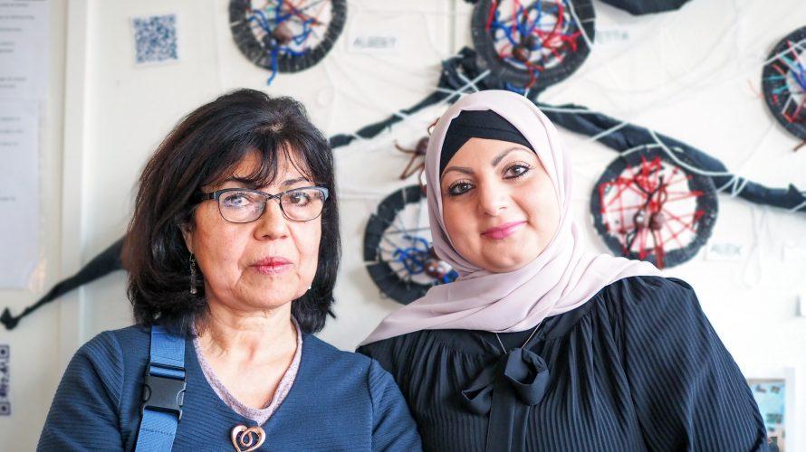 Susy Cantillano och Sabah Baltaji, förskollärare, Förskolan Sorgenfri.