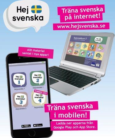 Affisch för hej svenska.