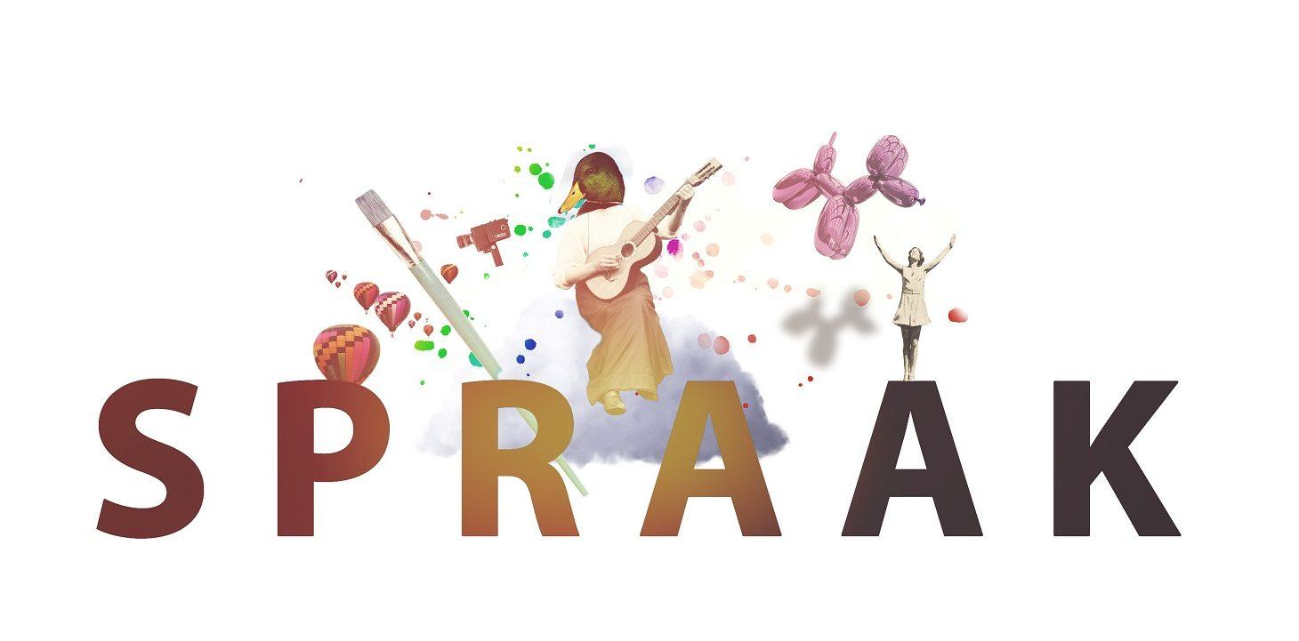 Logotype för SPRAAK.