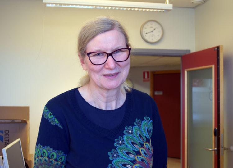 Annika Johansson, specialpedagog på Universitetsholmens gymnasium.