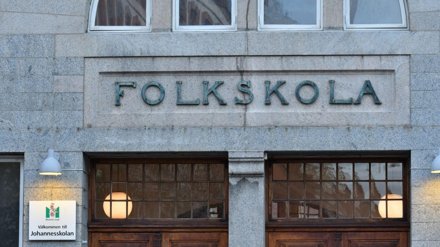 Bild på Johannesskolans fasad