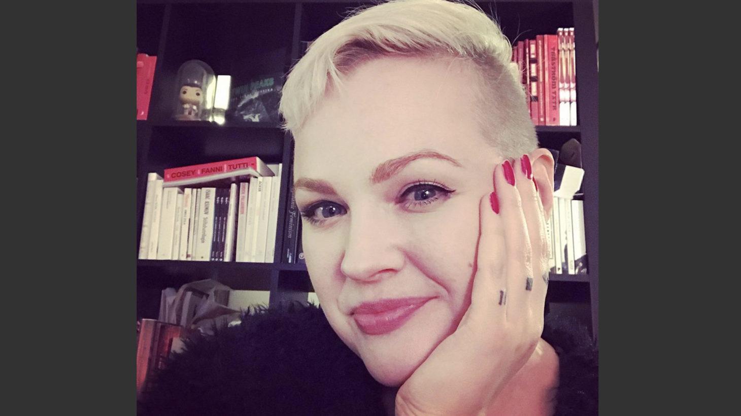 Susanne Johansson, bibliotekarie på Komvux Malmö