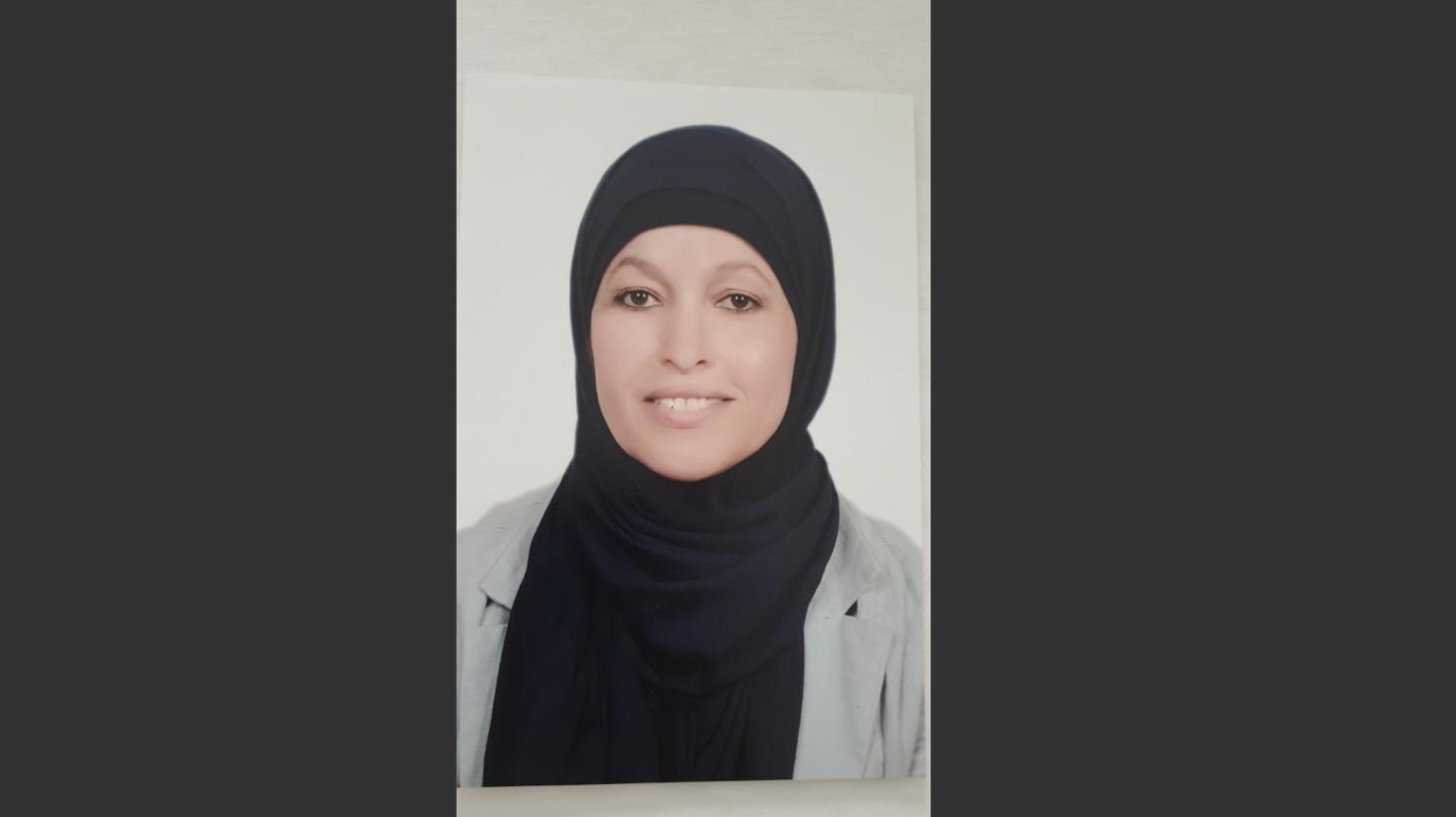 Mounira Guesmi, studiehandledare på Komvux Södervärn.