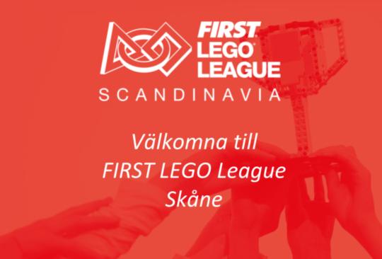 Logotype för first lego league.