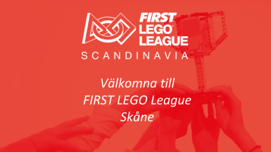 Logotype för first lego league.