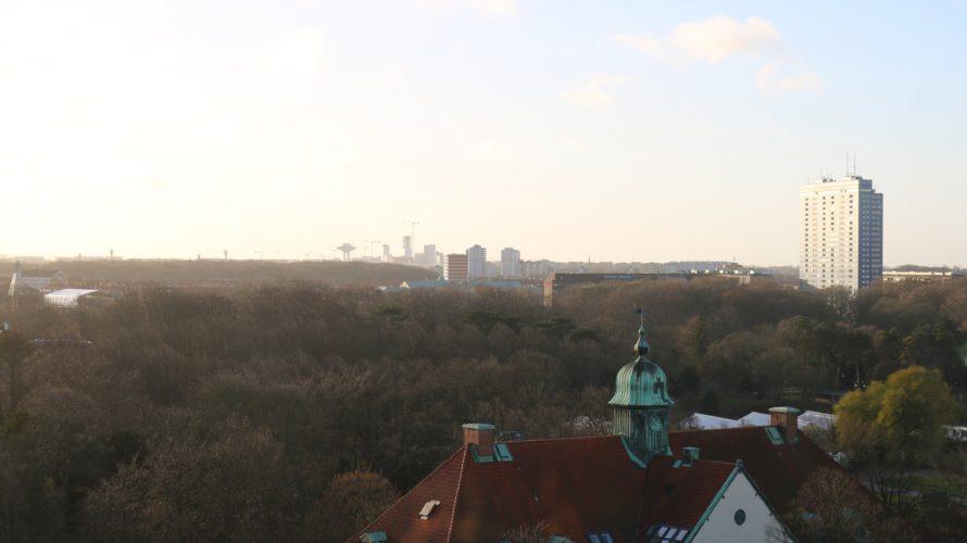 Vy över Malmö.