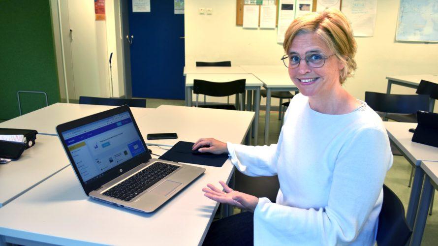 Anna Lepsenyi, lärare i svenska som andraspråk på Komvux Malmö.