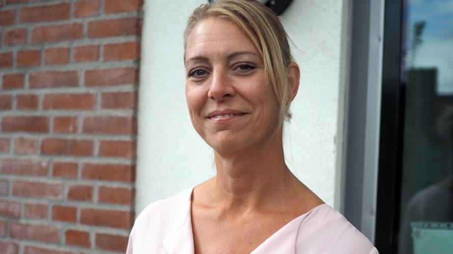 Annica Boras utanför Johanneslust förskola