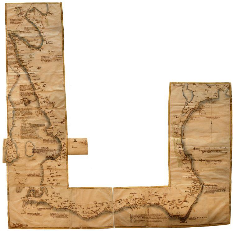 Buhrmans Skånekarta från 1684. Reproducerad och tryckt vid generalstabens litografiska anstalt, Stockholm 1969 Originalkartan förvaras i Krigsarkivet i den så kallade Kungsboken 5