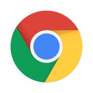 Logotype för google chrome.