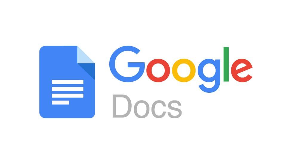 Logotype för google docs.