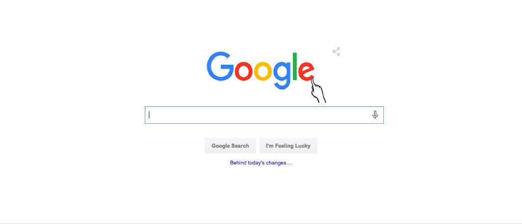 Logotype för google.