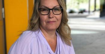 Porträttbild av Nina Bergdahl.