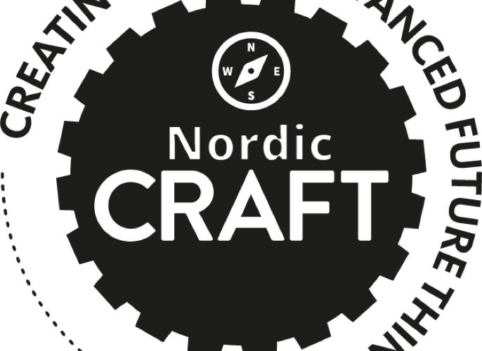 Logga för Nordic craft.