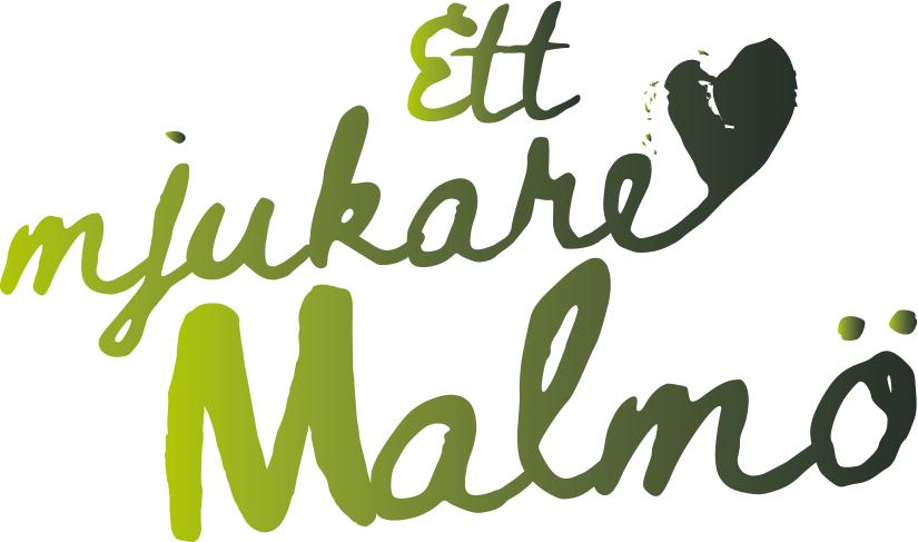 Logotype för Ett mjukare Malmö.